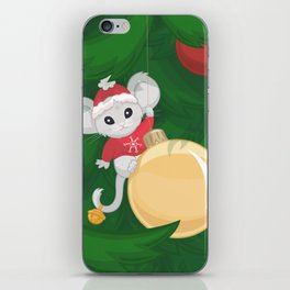 Christmas Mouse iPhone Skin