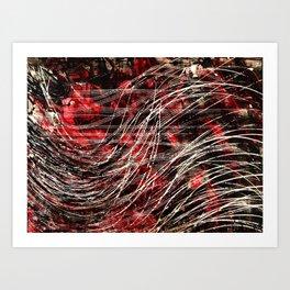 She Red Art Print