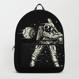 Space Baseball Astronaut Backpack
