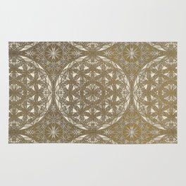 The Flower of Life Pattern Rug