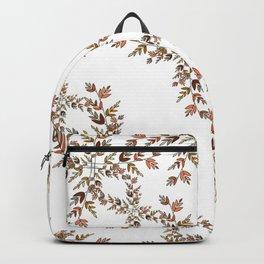 Elegant lace autumn pattern Backpack