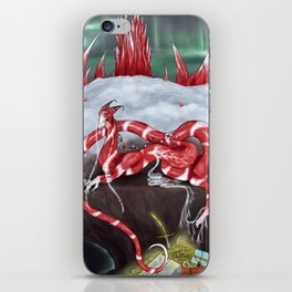 Dragon Claus iPhone Skin