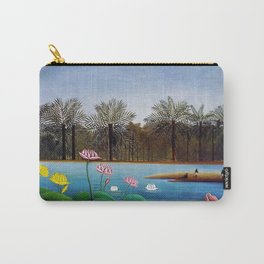 The Flamingos by Henry Rousseau Carry-All Pouch