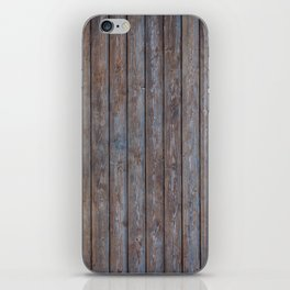 Vintage Wood background - photo wallpaper iPhone Skin