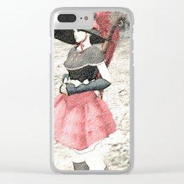 Nice dress - 漂亮的连衣裙 Clear iPhone Case