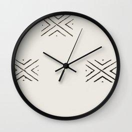 big X Wall Clock