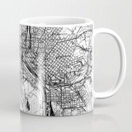 Vintage Map of Richmond Virginia (1934) BW Coffee Mug