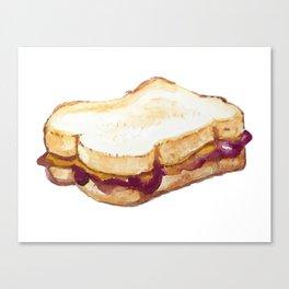 PBJ Sandwich Canvas Print
