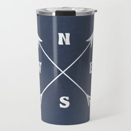 Compass arrows Travel Mug