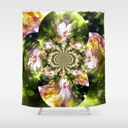 Magical Inspirations Of Spring Time Shower Curtain
