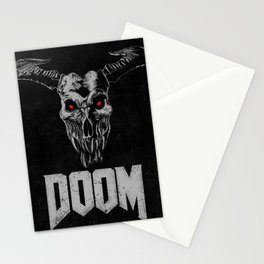 Doom - Icon of Sin Stationery Cards