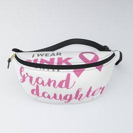 I Wear Pink For My Family Breast Cancer Awareness  Fanny Pack
