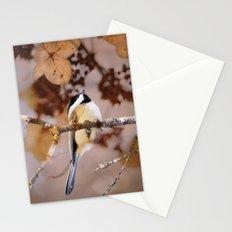 Birds :: Winter Chickadee Stationery Cards