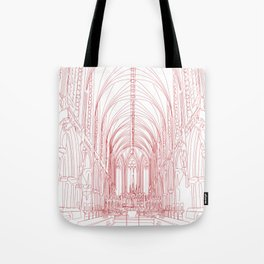 Inside Church Tote Bag
