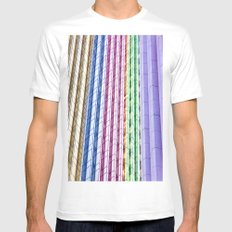 Urban  Mens Fitted Tee White MEDIUM