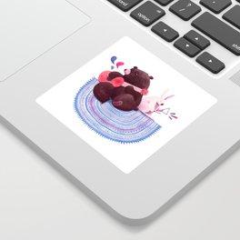Bear & Bunny Sticker