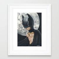 boob Framed Art Prints featuring Boob Wayne by Nataliette