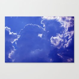 Clouds over Baden-Wurttemberg Canvas Print