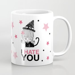 I Hate You / Witch Coffee Mug