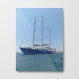 Big Boat Metal Print