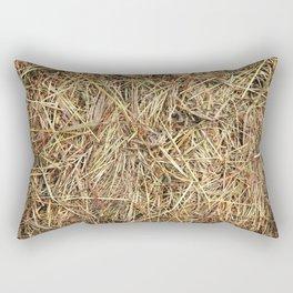 Hay texture Rectangular Pillow