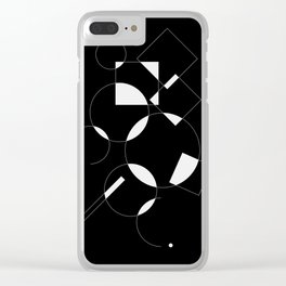 Where does a thought go when it's forgotten? 2-6 Clear iPhone Case