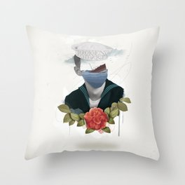 Broken Hearts Throw Pillow