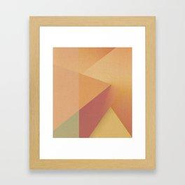 Mustard and Parsley Framed Art Print