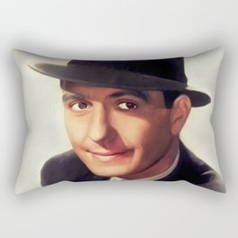 Hugh Beaumont, Vintage Actor Rectangular Pillow