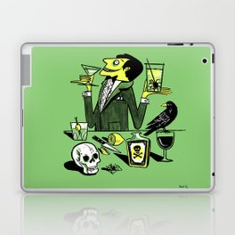 Drinks With The Mad Scientist Next Door Laptop & iPad Skin