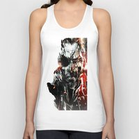 metal gear Tank Tops featuring Metal Gear Solid V by Hisham Al Riyami