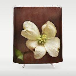 Dogwood Impression Shower Curtain
