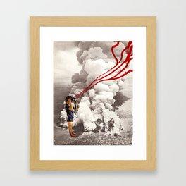 explosive views Framed Art Print