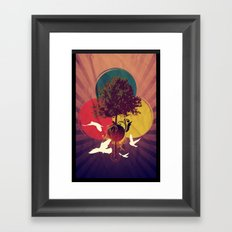 Wondertree Framed Art Print