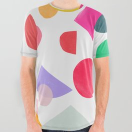colored toys 2 All Over Graphic Tee
