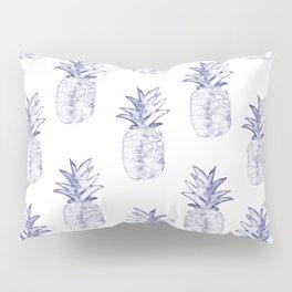 Blue Pineapple Pillow Sham