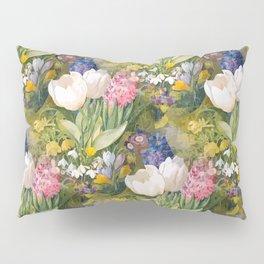 Tulips and primroses Pillow Sham