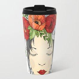 Flowers Queen - Poppies Travel Mug