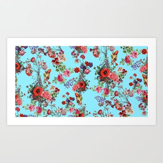 Botanic Pattern Art Print