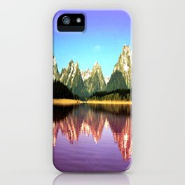 Grand Tetons 🌄 Purple Reflection iPhone Case