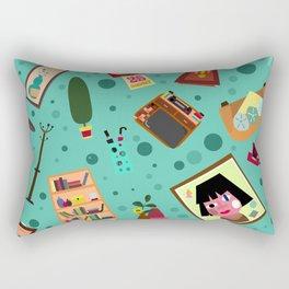 Living Retro Rectangular Pillow