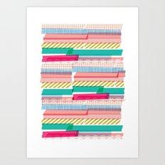 Washi Art Print