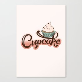 Cupcake Lovers Canvas Print