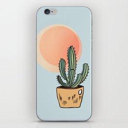 Cactus in the Sun iPhone Skin