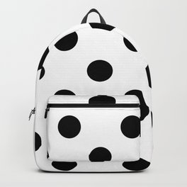 Polkadot (Black & White Pattern) Backpack