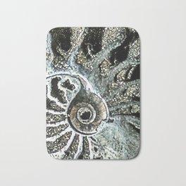 Pyrite after Ammonite Bath Mat