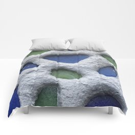 Sea Glass Mosaic Detail Comforters