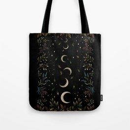 Crescent Moon Garden Tote Bag
