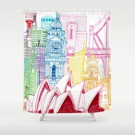 Sydney Towers Shower Curtain