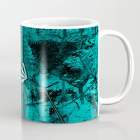 turquoise Mugs featuring Turquoise by LoRo  Art & Pictures